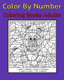 Adult Color By Number Coloring Book Buy Online In South Africa Takealot Com