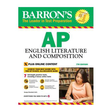 Barron S Ap English Literature And Composition 7th Edition Buy