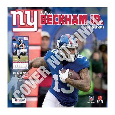 separation shoes 1d575 c834b New York Giants Odell Beckham, Jr. 2019 12x12 Player Wall Calendar