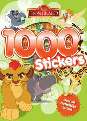 Disney Junior The Lion Guard 1000 Stickers Loading Zoom