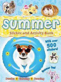 Summer Sticker and Activity Book