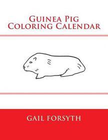 Guinea Pig Coloring Calendar