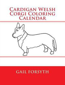 Cardigan Welsh Corgi Coloring Calendar