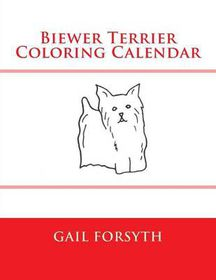 Biewer Terrier Coloring Calendar