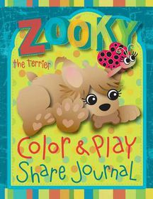 Zooky the Terrier Color and Play Share Journal