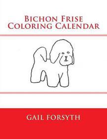 Bichon Frise Coloring Calendar