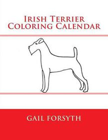 Irish Terrier Coloring Calendar