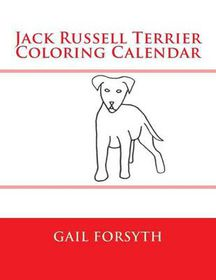 Jack Russell Terrier Coloring Calendar