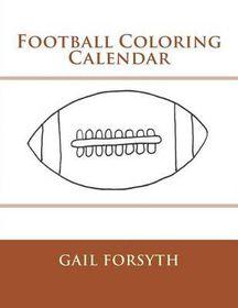 Football Coloring Calendar