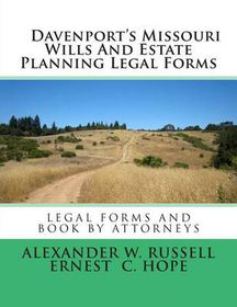 Davenports Missouri Wills And Estate Planning Legal Forms Buy - Where can i buy legal forms
