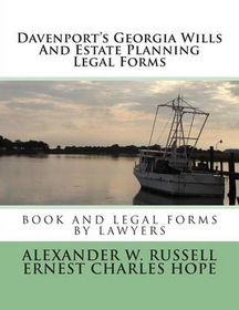 Davenports Georgia Wills And Estate Planning Legal Forms Buy - Where to buy legal forms
