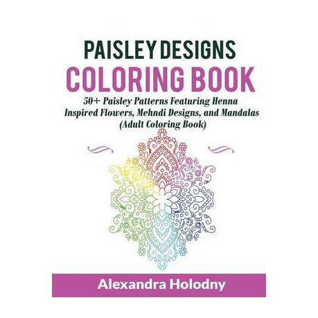Paisley Designs Coloring Book | Buy Online in South Africa ...