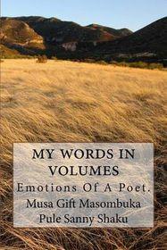 My Words in Volumes