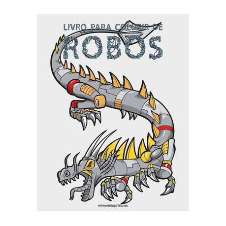 livro para colorir de robos 1 buy online in south africa