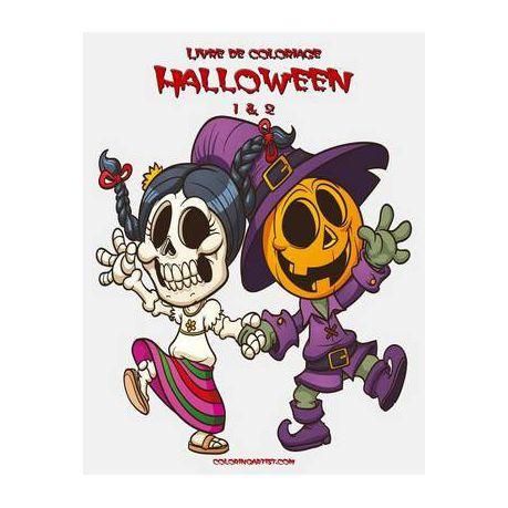 Livre De Coloriage Halloween 1 2 Buy Online In South Africa