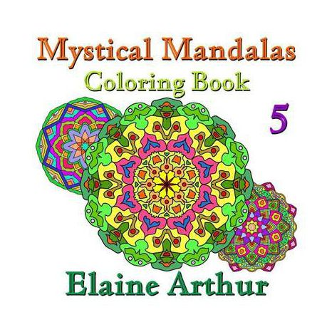 Mystical Mandalas Coloring Book No. 5 | Buy Online in South Africa ...
