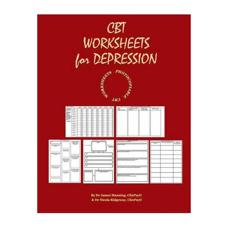 CBT Worksheets for Depression: A Photocopiable CBT Programme for CBT  Therapists in Training