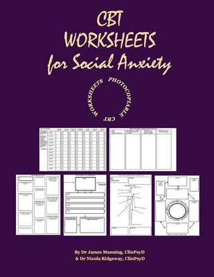 Cbt Worksheets For Social Anxiety Cbt Worksheets For Cbt Therapists
