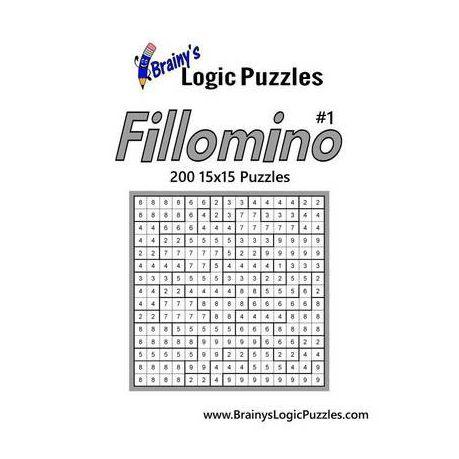 Brainy's Logic Puzzles 15x15 Fillomino #1