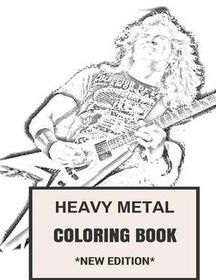 Heavy Metal Coloring Book | Buy Online in South Africa | takealot.com