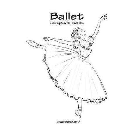 Ballet Coloring Book for Grown-Ups 1
