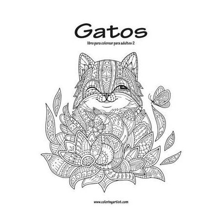 Gatos Libro Para Colorear Para Adultos 2 | Buy Online in South ...