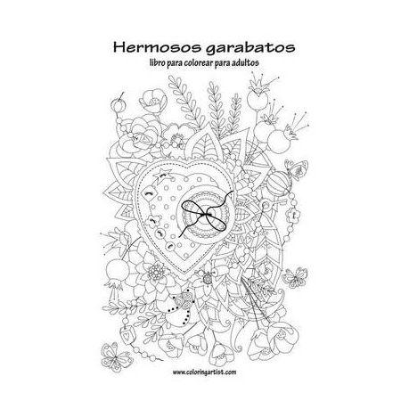 Hermosos Garabatos Libro Para Colorear Para Adultos 1