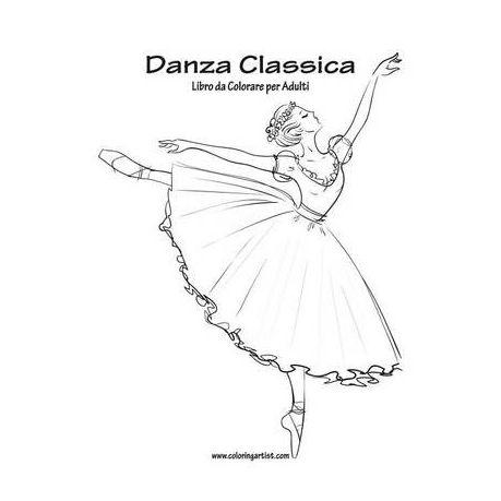 Danza Classica Libro Da Colorare Per Adulti 1 Buy Online In South