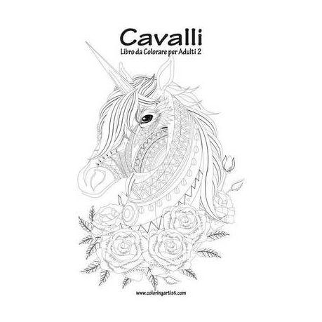 Cavalli Libro Da Colorare Per Adulti 2 Buy Online In South Africa