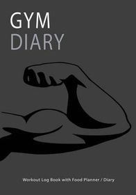 gym diary workout log book with food planner diary buy online in