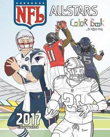 NFL All Stars 2017: Coloring and Activity Book for Adults and Kids