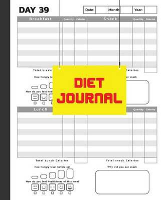 diet journal food and exercise journal 7 5x9 25 with 60 days