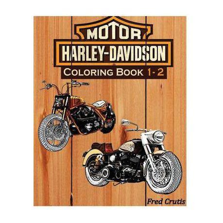 Motor: Harley-Davidson Coloring Book 1 - 2
