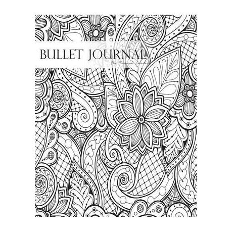 Bullet Journal Notebook Dotted Grid, Graph Grid-Lined Paper, Large,  8
