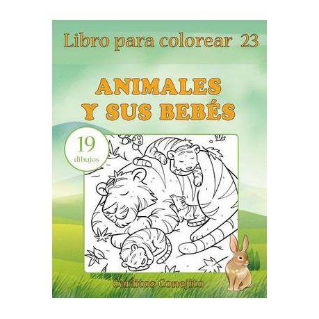 Libro Para Colorear Animales y Sus Bebes | Buy Online in South ...