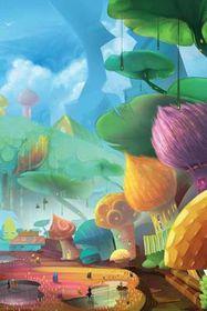 Bugland Fairy Village Blank Book