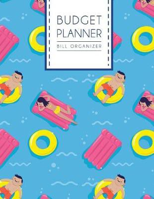 budget planner bill organizer sea vacation large budget planner