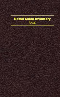 retail sales inventory log logbook journal 96 pages 5 x 8