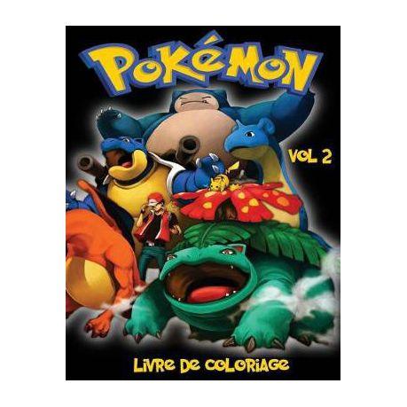 Pokemon Livre De Coloriage Vol 2