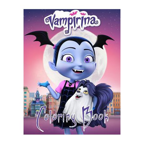 Vampirina Coloring Book One Of The Best Coloring Book For Kids And Adults Mini Coloring Book For Little Kids Activity Book For All Family Me