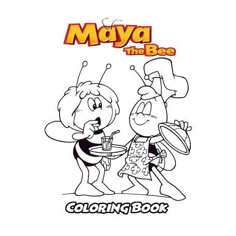 Maya The Bee | Free Printable Coloring Pages – Coloringpagesfun ... | 459x459
