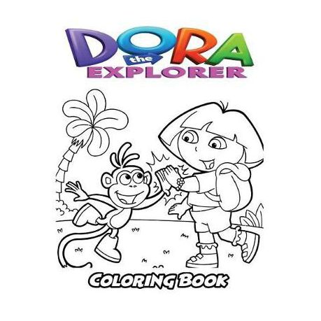 - Dora The Explorer Coloring Book: Coloring Book For Kids And Adults,  Activity Book With Fun, Easy, And Relaxing Coloring Pages Buy Online In  South Africa Takealot.com