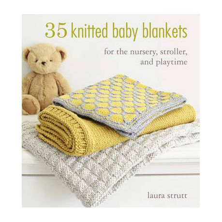 c3564685eb494 35 Knitted Baby Blankets