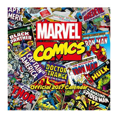 Marvel Comics Classic Official 2017 Square Calendar Buy Online In