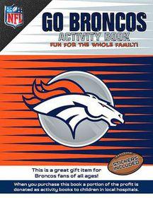 Go Broncos Activity Book