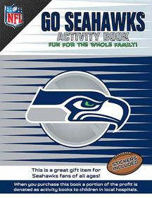 Go Seahawks Activity Book
