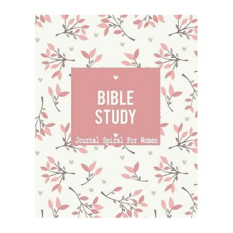 Bible Study Journal Spiral for Women