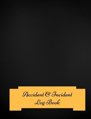 Accident Incident Log Book