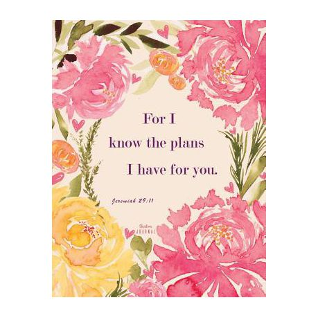 Christian Journal For I Know The Plans I Have For You Jeremiah 29