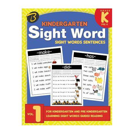 Kindergarten Sight Words Sight Words Sentences For Kindergarten And